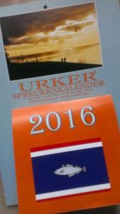 Cover Urker Spreukenkalender 2016